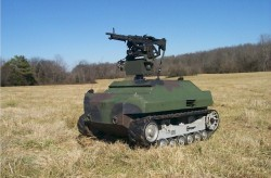 A Gladiator Tactical Unmanned Ground Vehicle at Redstone Arsenal. Photo: US Army.